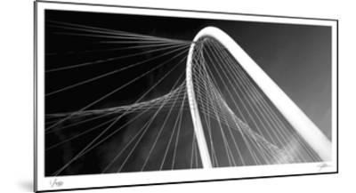 Bridge Arch and Cables-Ken Bremer-Mounted Limited Edition