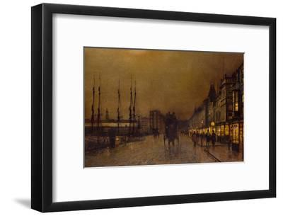 Glasgow-John Atkinson Grimshaw-Framed Giclee Print