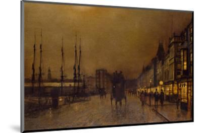 Glasgow-John Atkinson Grimshaw-Mounted Giclee Print