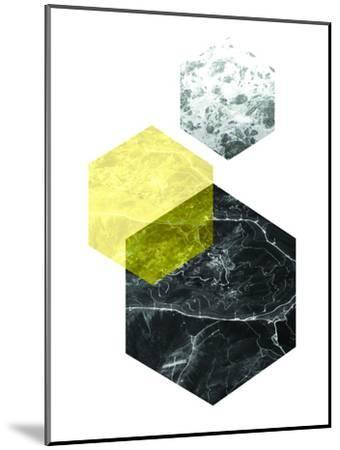 Geometric Art 22-Pop Monica-Mounted Art Print