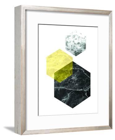 Geometric Art 22-Pop Monica-Framed Art Print