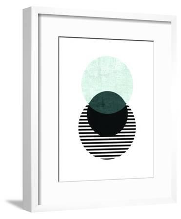 Geometric Art 13-Pop Monica-Framed Art Print