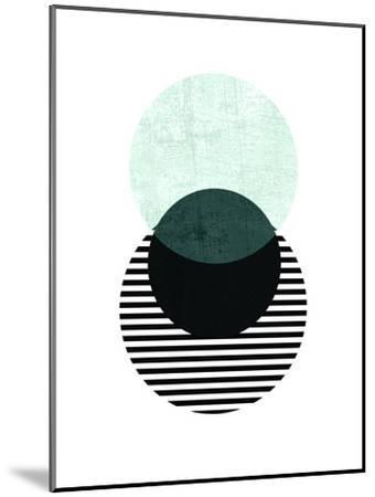 Geometric Art 13-Pop Monica-Mounted Art Print