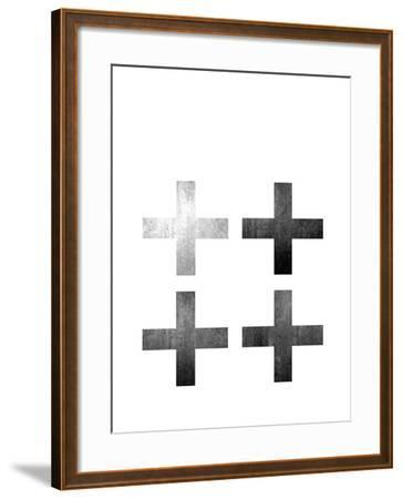 Geometric Art 18-Pop Monica-Framed Art Print