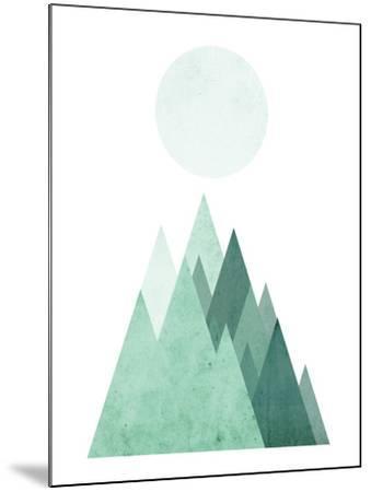 Geometric Art 43-Pop Monica-Mounted Art Print