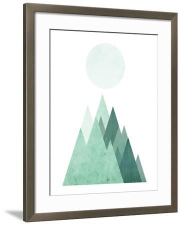 Geometric Art 43-Pop Monica-Framed Art Print