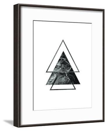 Geometric Art 55-Pop Monica-Framed Art Print