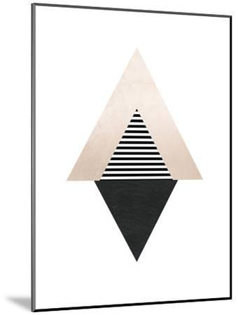 Geometric Art 56-Pop Monica-Mounted Art Print