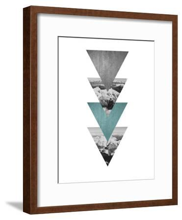 Geometric Art 46-Pop Monica-Framed Art Print