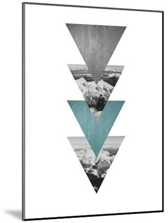 Geometric Art 46-Pop Monica-Mounted Art Print