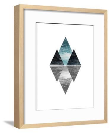 Geometric Art 7-Pop Monica-Framed Art Print