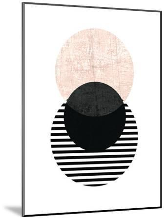 Geometric Art 5-Pop Monica-Mounted Art Print