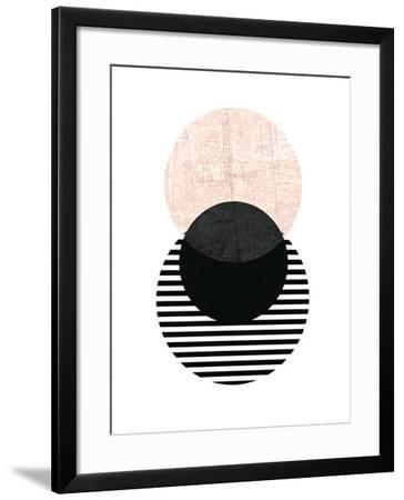 Geometric Art 5-Pop Monica-Framed Art Print
