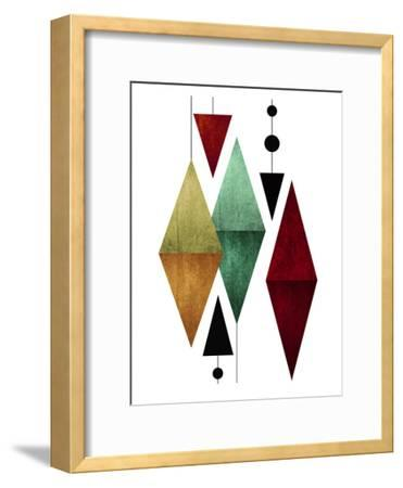 Geometric Art 50-Pop Monica-Framed Art Print