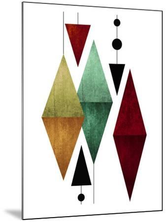 Geometric Art 50-Pop Monica-Mounted Art Print