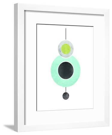 Geometric Art 40-Pop Monica-Framed Art Print
