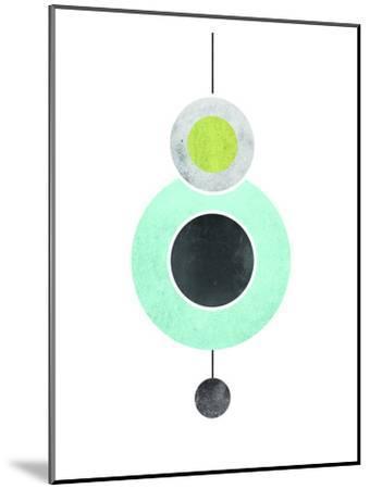 Geometric Art 40-Pop Monica-Mounted Art Print