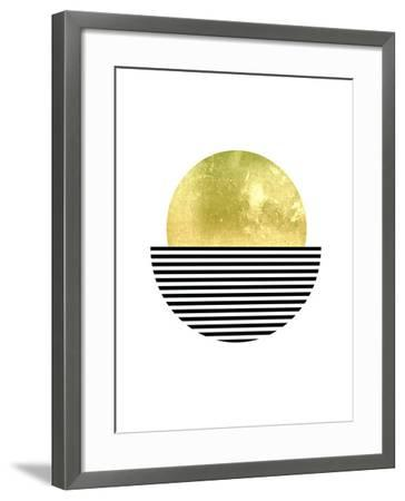 Geometric Art 3-Pop Monica-Framed Art Print
