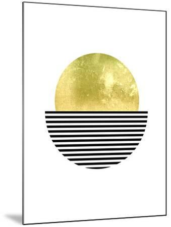 Geometric Art 3-Pop Monica-Mounted Art Print