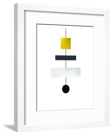 Geometric Art 30-Pop Monica-Framed Art Print