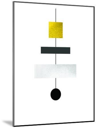 Geometric Art 30-Pop Monica-Mounted Art Print