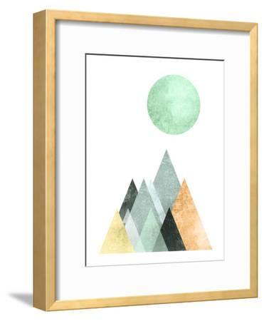 Geometric Art 41-Pop Monica-Framed Art Print