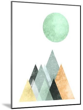 Geometric Art 41-Pop Monica-Mounted Art Print