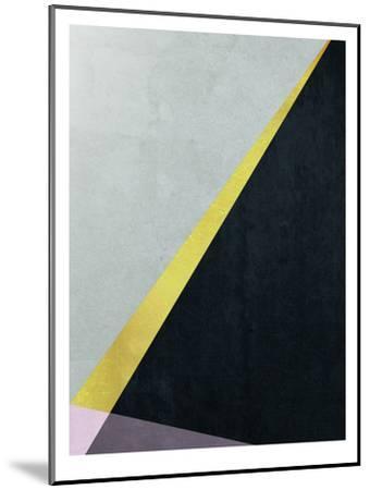 Geometric Art 53-Pop Monica-Mounted Art Print