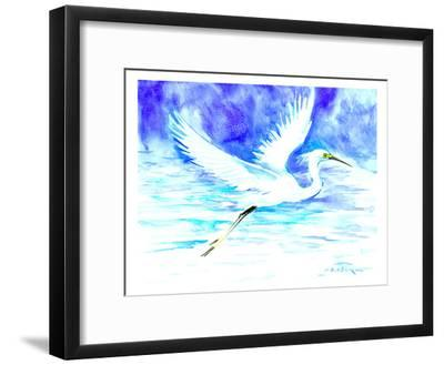 Heron 5-Suren Nersisyan-Framed Art Print