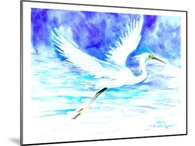 Heron 5-Suren Nersisyan-Mounted Art Print