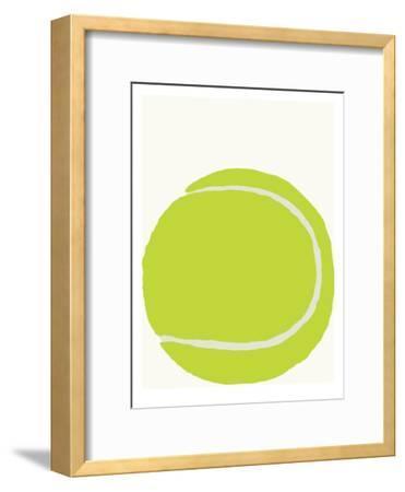 Tennis Ball-Jorey Hurley-Framed Art Print