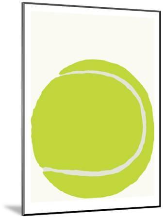 Tennis Ball-Jorey Hurley-Mounted Art Print