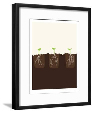 Transplants-Jorey Hurley-Framed Art Print