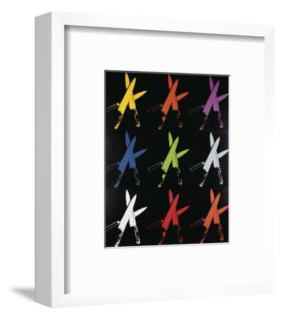 Knives, 1981-82 (multi)-Andy Warhol-Framed Art Print