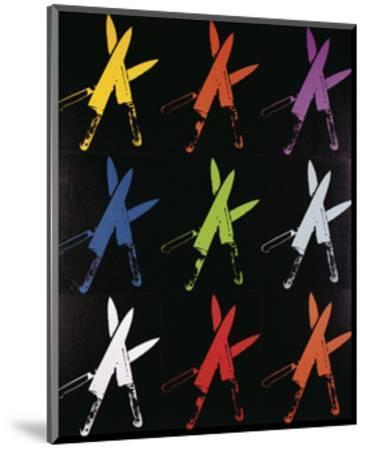 Knives, 1981-82 (multi)-Andy Warhol-Mounted Art Print