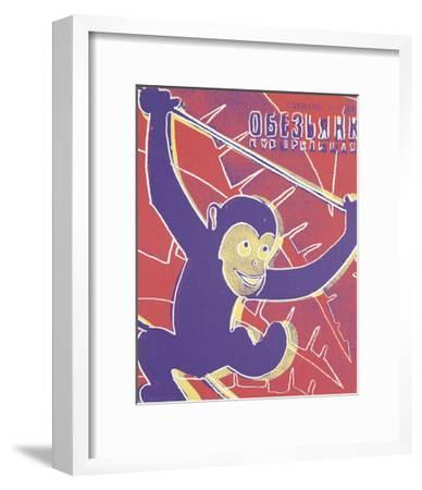 Monkey, 1983-Andy Warhol-Framed Art Print