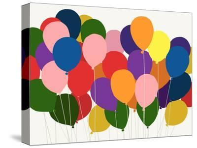 Balloons-Jorey Hurley-Stretched Canvas Print