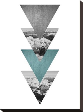 Geometric Art 46-Pop Monica-Stretched Canvas Print
