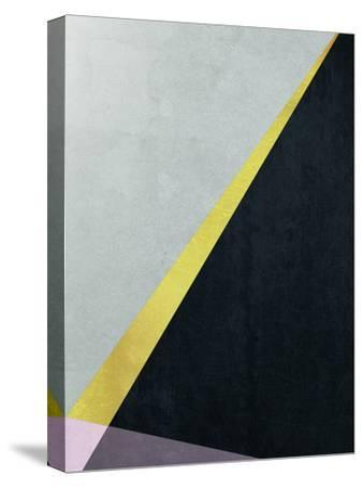 Geometric Art 53-Pop Monica-Stretched Canvas Print