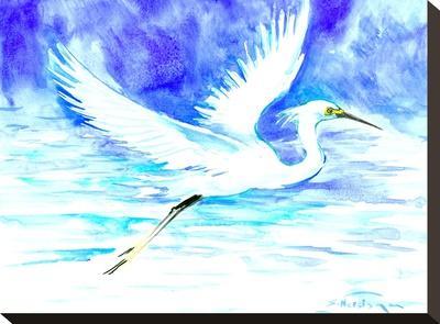 Heron 5-Suren Nersisyan-Stretched Canvas Print