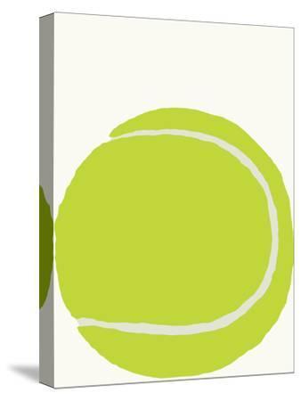 Tennis Ball-Jorey Hurley-Stretched Canvas Print