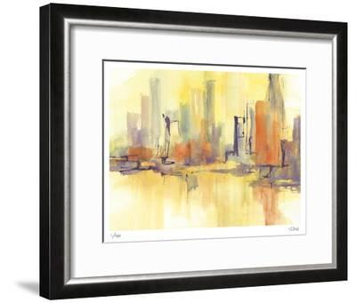 City Glow II-Chris Paschke-Framed Limited Edition