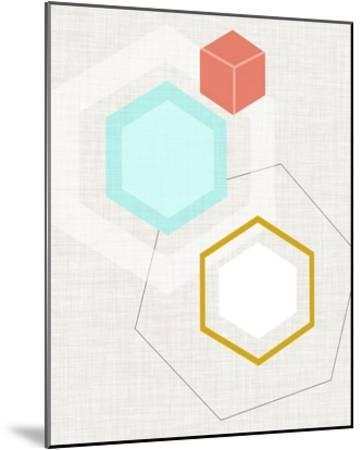 Mod Geometry I-Jarman Fagalde-Mounted Art Print