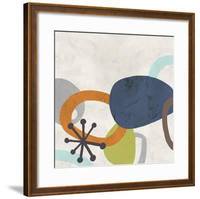 Sunshine Jumble II-June Erica Vess-Framed Art Print
