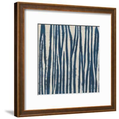 Indigo Signals VI-June Erica Vess-Framed Art Print