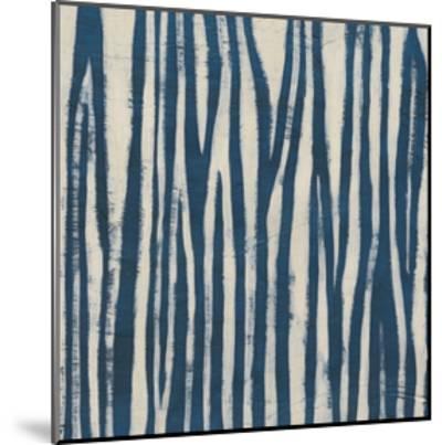 Indigo Signals VI-June Erica Vess-Mounted Art Print