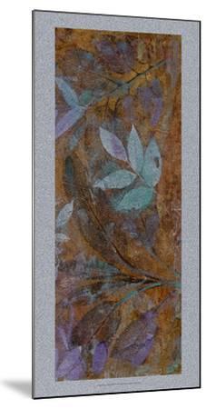 Leaf Shimmer II-Tim O'toole-Mounted Art Print