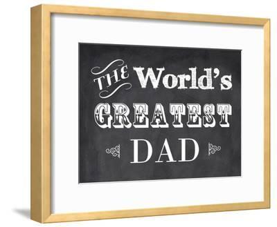 The World's Greatest Dad-Veruca Salt-Framed Art Print