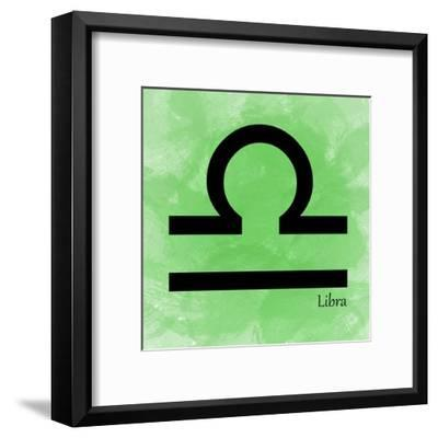 Libra - Green-Veruca Salt-Framed Art Print