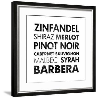 Red Wine III-Veruca Salt-Framed Art Print